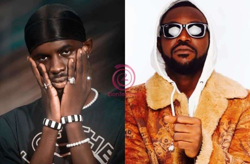 Check Out Yaa Pono's Sweet Reaction After Black Sherif Mentioned Him As One Of The First People To Help Him – Watch Video