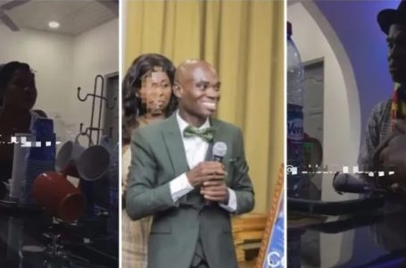 VIDEO: Dr UN Lands In Fresh Trouble As Family Chase Him For Allegedly Impregnating Their Daughter In SHS