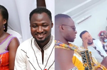 Beautiful First Videos From Funny Face's Ex-Wife, Elizabeth Ntim's New Marriage Ceremony Surface Online – Watch