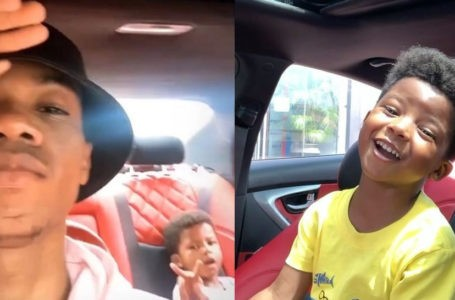 Watch KiDi's Son's Epic Reaction As He Hears His Name In His Father's Song, 'Golden Boy' – Video