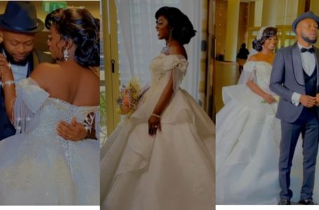 VIDEO: Actors Ahuof3 Patri And Kalybos Shockingly Tie The Knot? – See First Videos From Their 'Wedding'