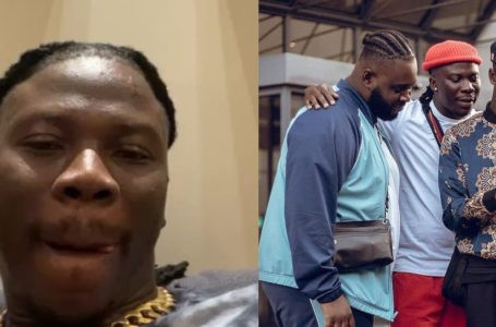 VIDEO: 'They Don't Love Us' – Cries Stonebwoy As He Flies His Entire Team to France For Mega Project