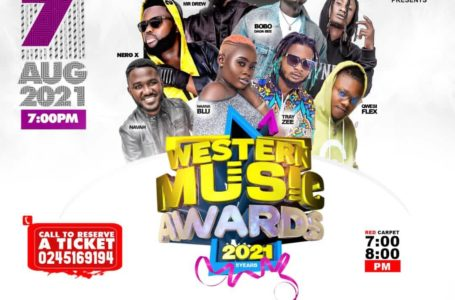 Kofi Bentil, Fameye, DopeNation, Mr Drew And More To Thrill Patrons At Western Music Awards 21