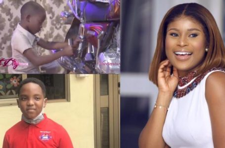 Berla Mundi Begs For An Oswald Kind Of Support For Motorbike Expert, Little Susan To Achieve Her Dreams Of Becoming A Mechanical Engineer (Video)