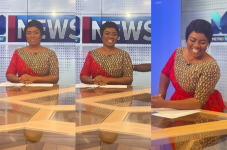 The Storm Is Over: Bridget Otoo Broadcasts First News Segment On Metro TV (Video)