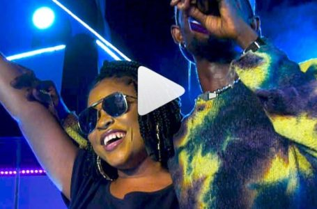 Adina Sings 1st Sermon Chorus As She Puts Up An Energetic Live Band Performance With Black Sherif (Video)
