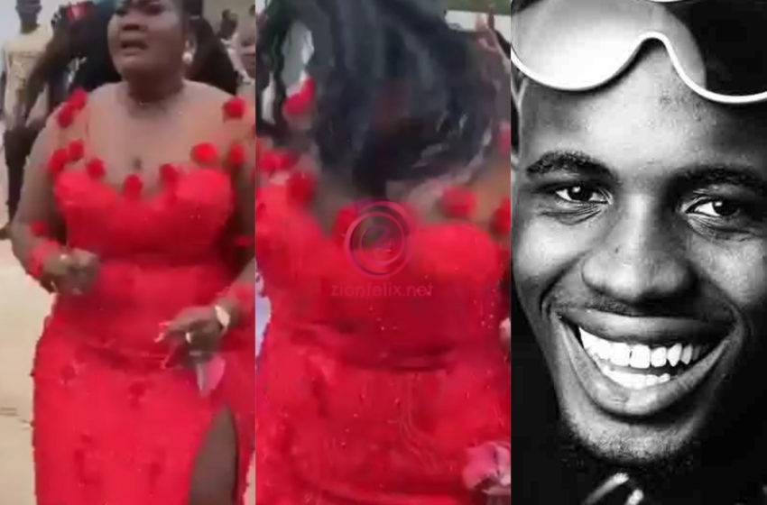 The Kwaku Frimpong Effect: Lady M@dly Sings Black Sherif's 'Second Sermon' Song At A Wedding Ceremony (Video)