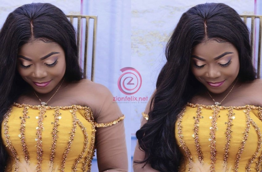 Afia Pokuaa 'Vim Lady' Shares Stunning Unseen Photos From Her Recent Wedding To Celebrate Her Birthday – See Photos