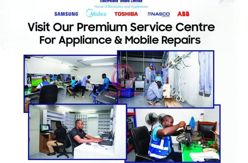 Electroland Ghana Limited Unveils A State-Of-The-Art Samsung Service Centre In Accra
