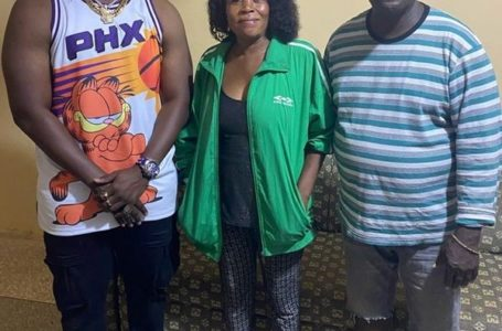 Ghanaian Musician, Gambo Visits Castro's Parents