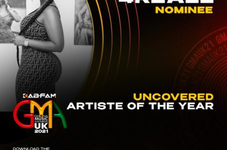 Mona4Reall Nominated For Uncovered Artiste Of The Year By Ghana Music Awards UK
