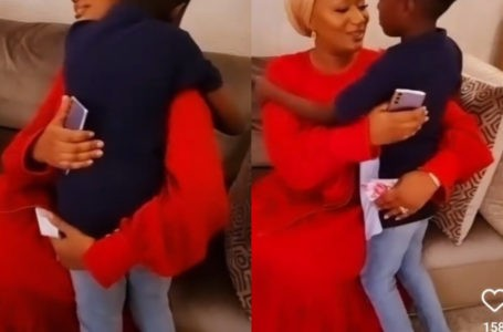 Mother And Son Affair: Watch The Moment Samira Bawumia's Young Son Prayed For Her On Her Birthday
