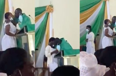 'Kissing' Anglican Priest Apologizes