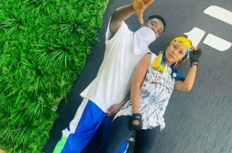 AMG Armani Acts Gentlemanly And Apologizes To Akuapem Poloo For Giving Her 'Broken Heart' (+screenshot)