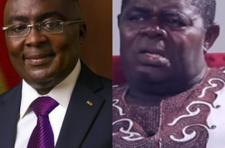 Video: Psalm Adjeteyfio Receives Dr Bawumia's Cash Donation