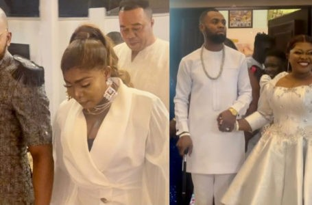 VIDEO: Watch The Lovely Moment Bishop Obinim And His His Wife, Florence Obinim Made A Grand Entry At Rev. Obofour's Plush Party For His Wife