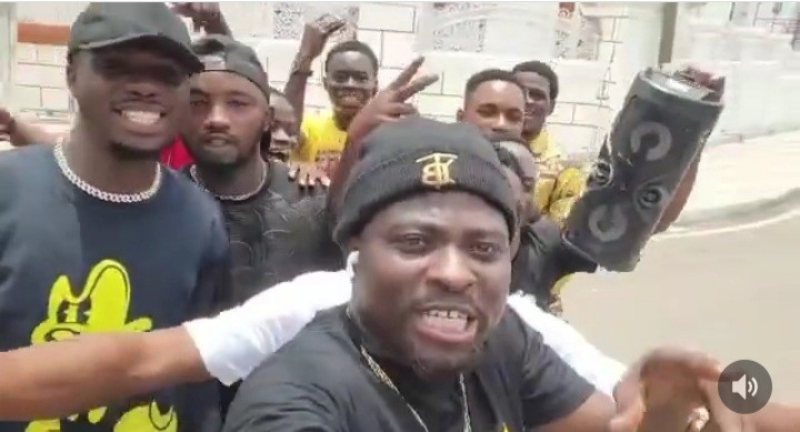 Brother Sammy Joins The Street With Gospel Drill (Video)
