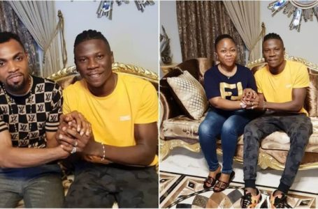 Stonebwoy Hangs Out With Rev Obofour And Bofowaa (Video)