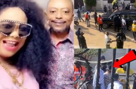 VIDEO: Moment Rev Owusu Bempah Stormed The House Of Nana Agradaa With Thugs And Police Officers