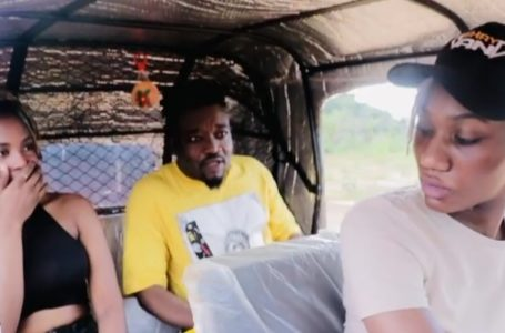 """Wendy Shay Rides """"Pragya"""" To Promote Her New Song (Video)"""