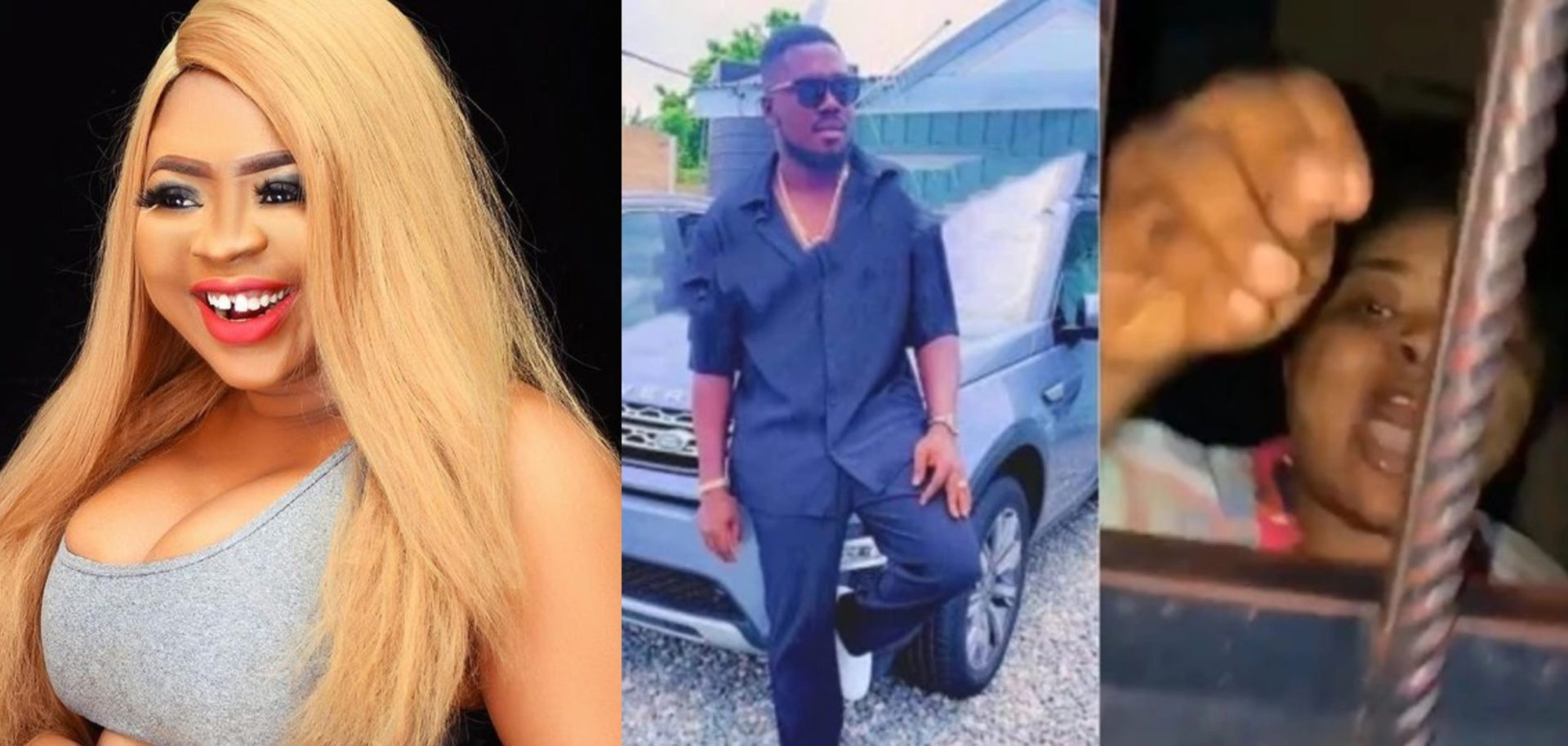 Adu Safowah Reportedly Nabbed For Blackmailing Nana Aba's Supposed Young Boyfriend – Watch Video