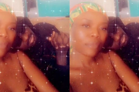 Amerado Finally Gets The Chance To Be C0zy With Delay After She Bounced Him During A Recent Interview – Watch Video
