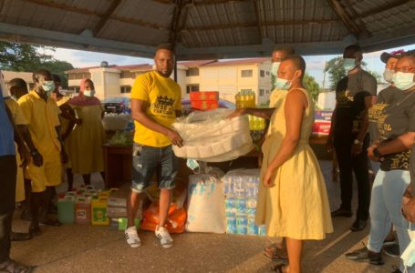 Daddy Lumba Fans, House Of DL Fan Club Donates Items To Dzorwulu Special School To Mark His Recent Birthday
