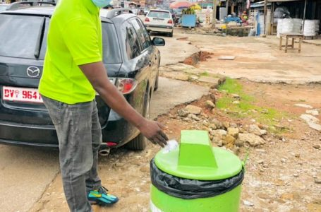 Access Smile Foundation Spearheads Sanitation Agenda With Concrete Waste Bins (See Photos)