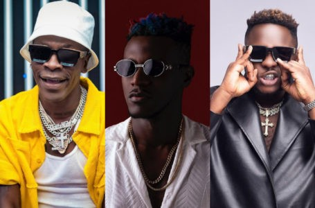Keche Joshua Kneels Down On Live TV To Beg For Shatta Wale And Medikal's Release – Watch Video