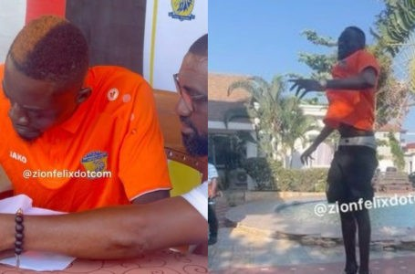Actor Lilwin Turns Footballer; Signs A Two-Year Deal With New Edubiase United Football Club – Watch Videos