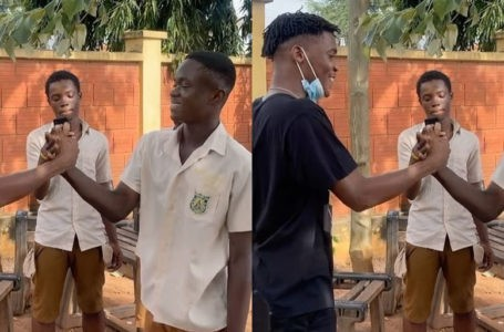Yaw Tog Finally Completes SHS; First Video Of Him Jubilating Hits Online – Watch